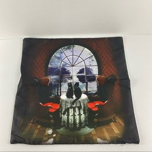 Skull Scenery 45x45cm Polyester Cushion Cover